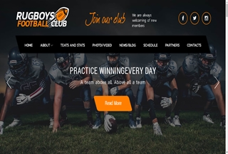 Rugboys PREMIUM THEME
