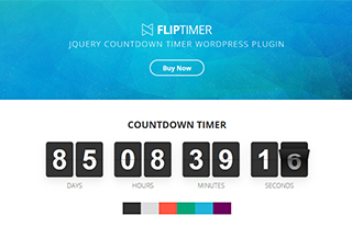 FlipTimer WP Plugin