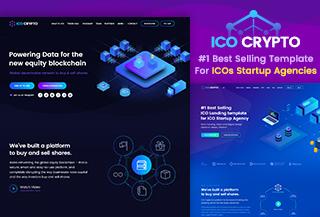 ICO Crypto - Landing Page